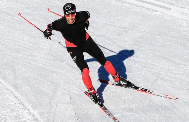 Rossignol with 37.5 technology.