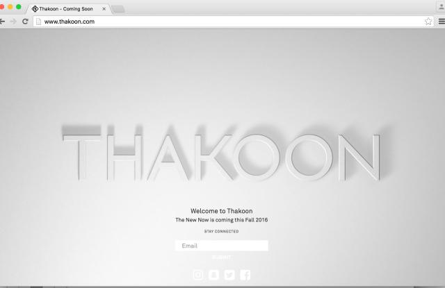 Thakoon's website