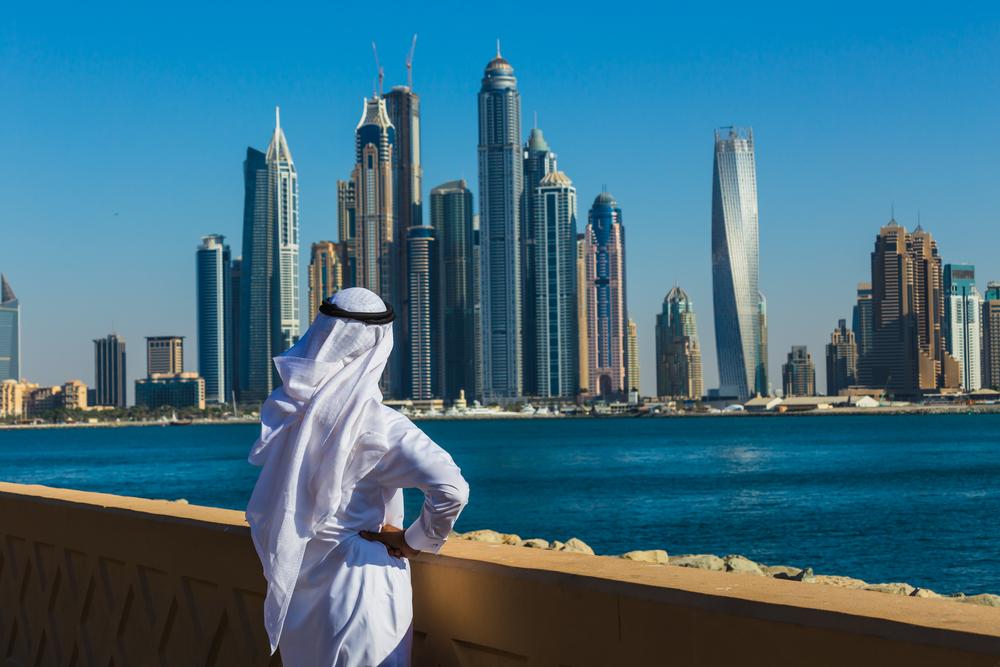 Dubai's skyline.