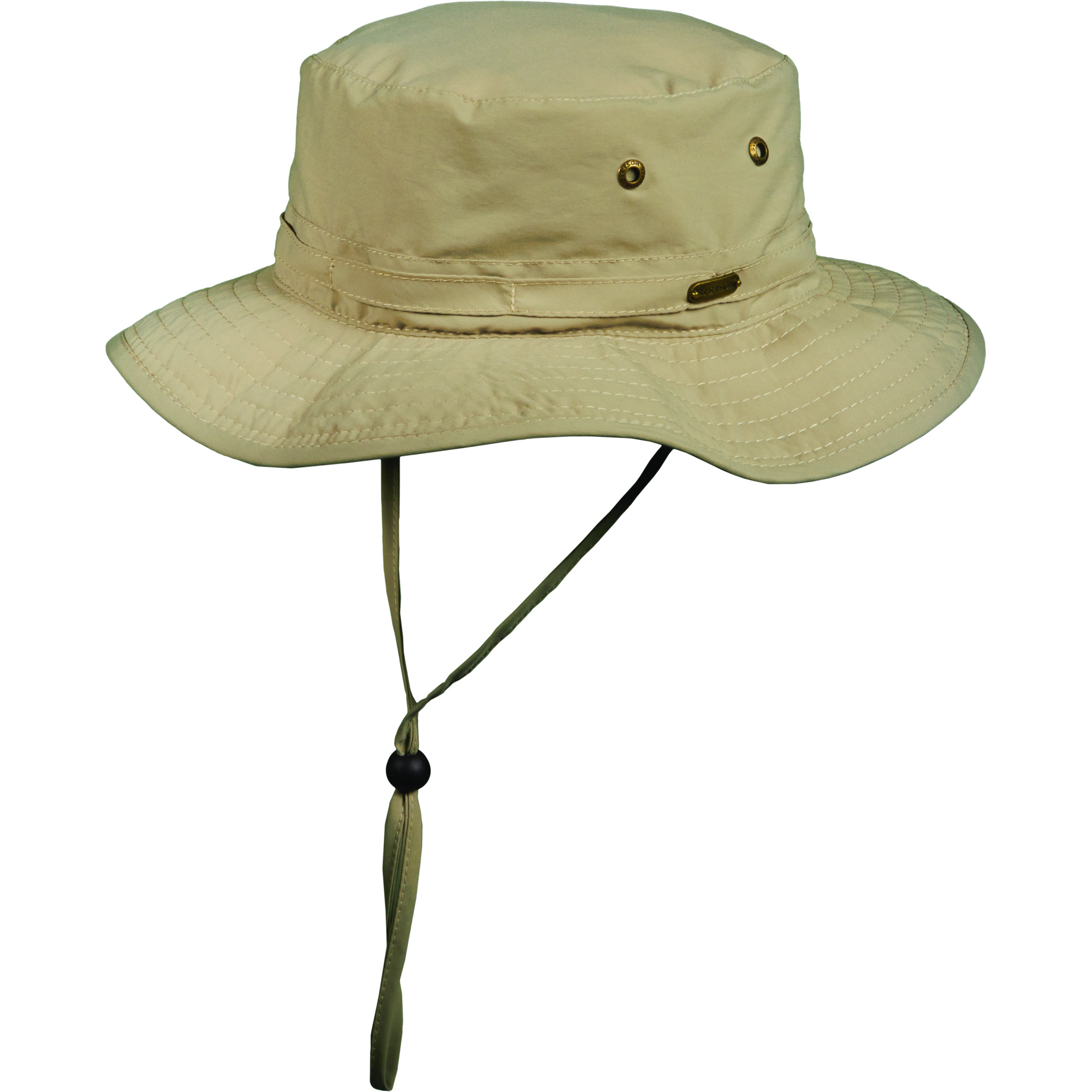 The Stetson hat with No Fly Zone fabric.