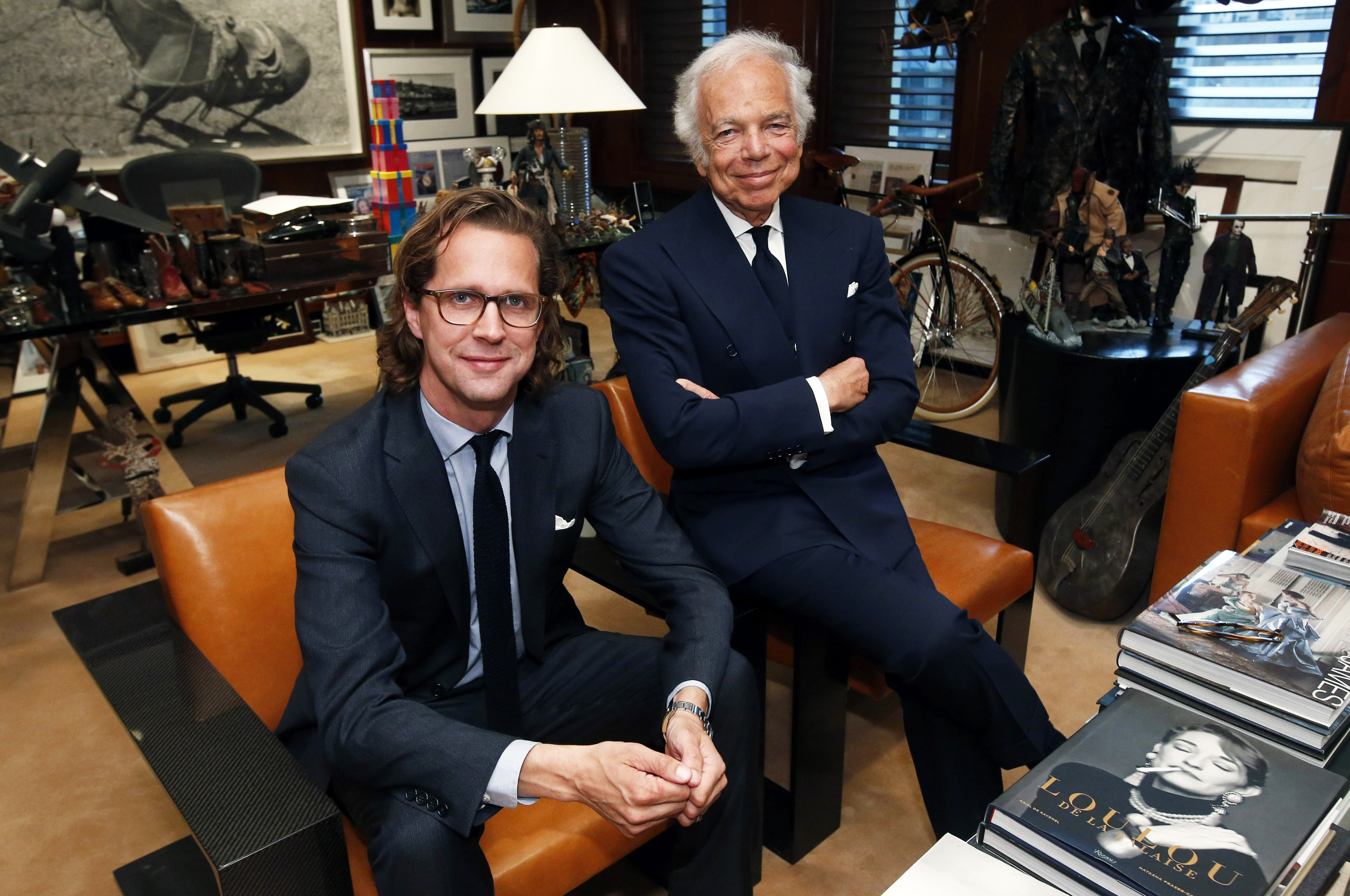 Stefan Larsson and Ralph Lauren