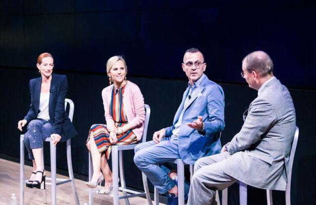 Vanessa Friedman, Tory Burch, Steven Kolb and Alex Bolen.