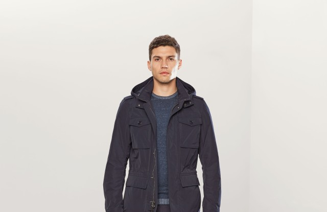 A look from the spring collection of Woolrich John Rich & Bros.