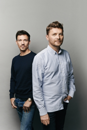 Karl Fournier and Olivier Marty, the designers behind architecture firm Studio KO.