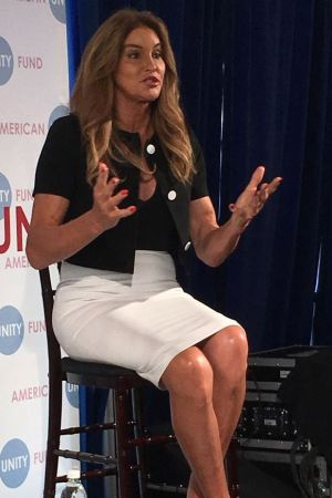 Caitlyn Jenner in Cleveland.