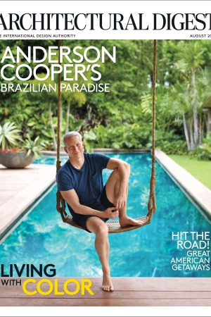 Anderson Cooper for Architectural Digest