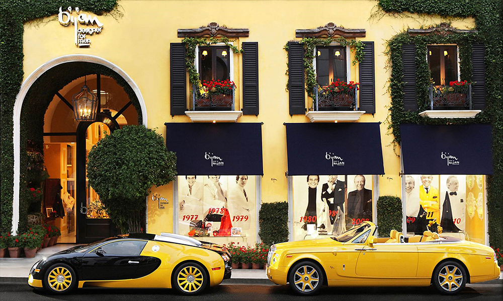 Bijan at 420 North Rodeo Drive in Beverly Hills