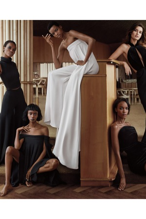 Brandon Maxwell's first-ever campaign for fall 2016.