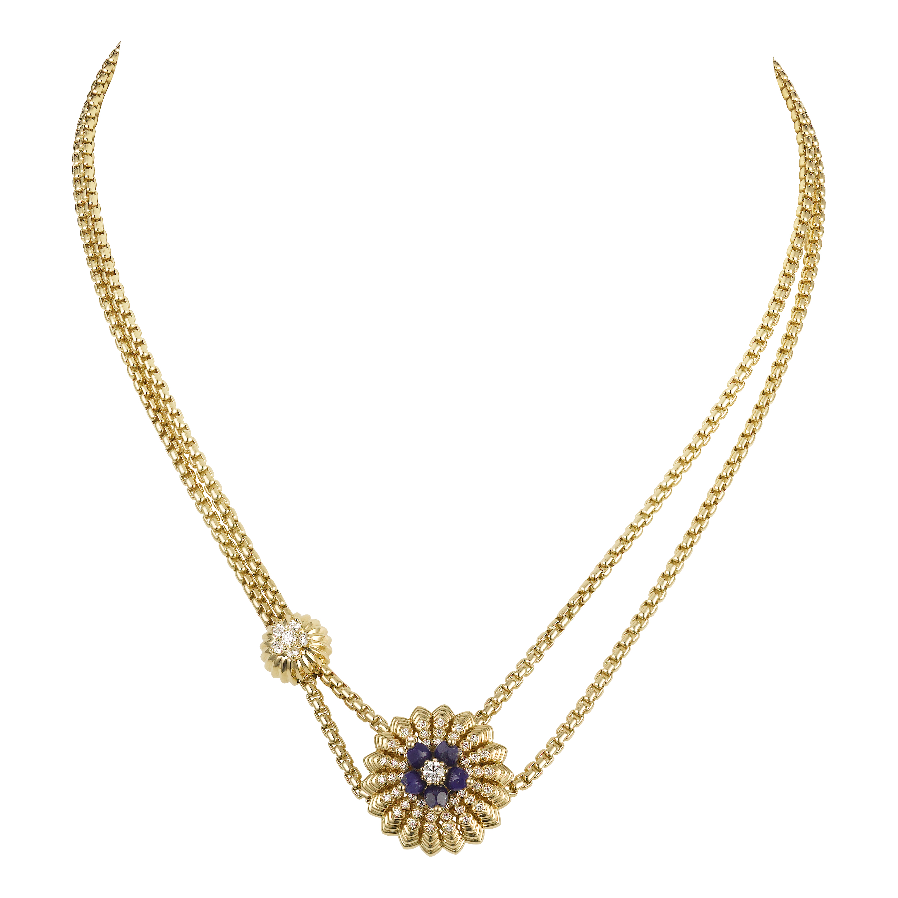 A necklace from the Cactus de Cartier collection