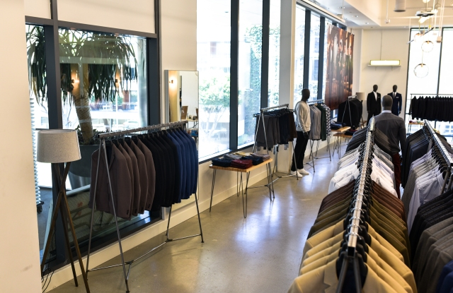 Combatant Gentlemen's first stand-alone store in Santa Monica.