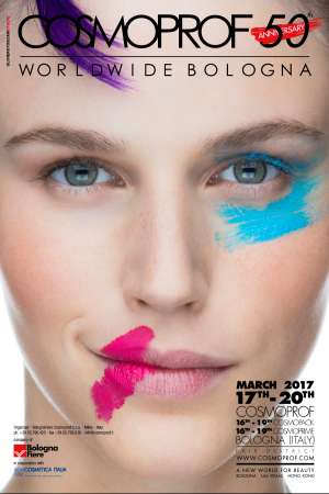 One of Cosmoprof's 2017 ads by Oliviero Toscani.