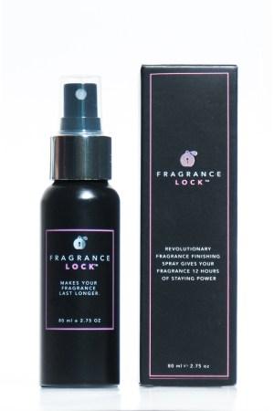 A bottle of FragranceLock