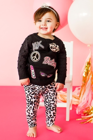 A Betsey Johnson look for Babies R' Us.