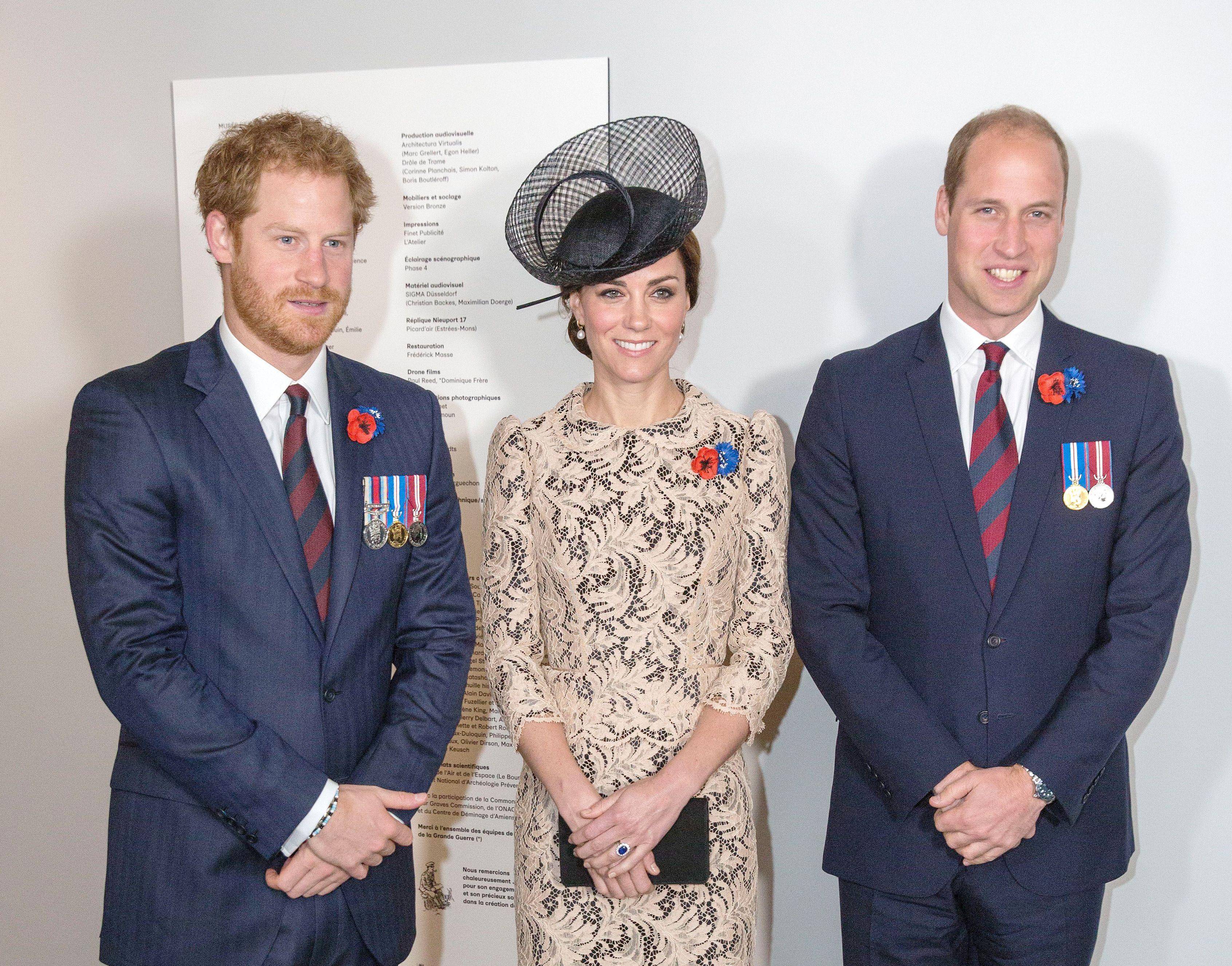 Prince Harry and Duke Duchess of Cambridge