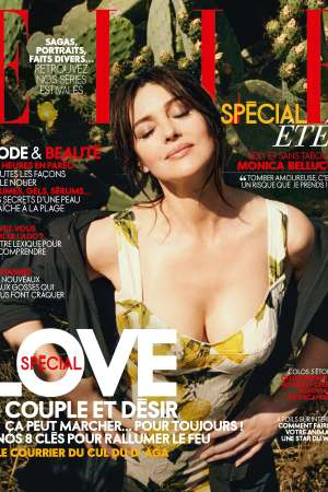 The cover of Elle France's July 29 issue