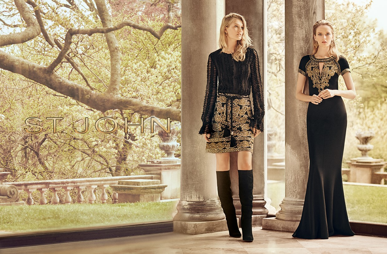 An image from St. John's fall campaign shot by Boo George