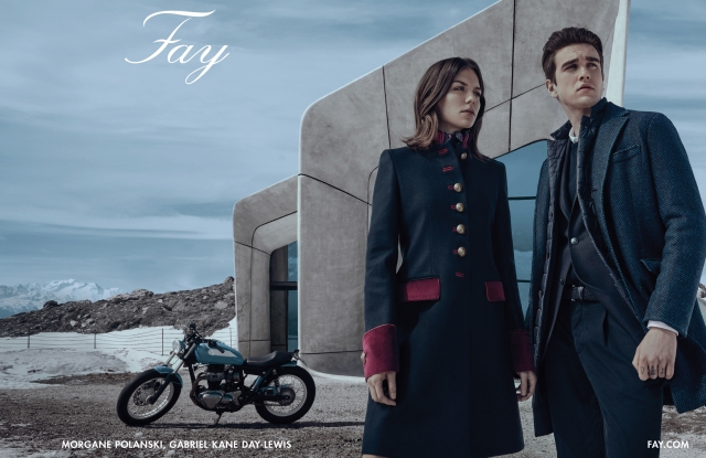 Fay Fall/Winter 2016 advertising campaign