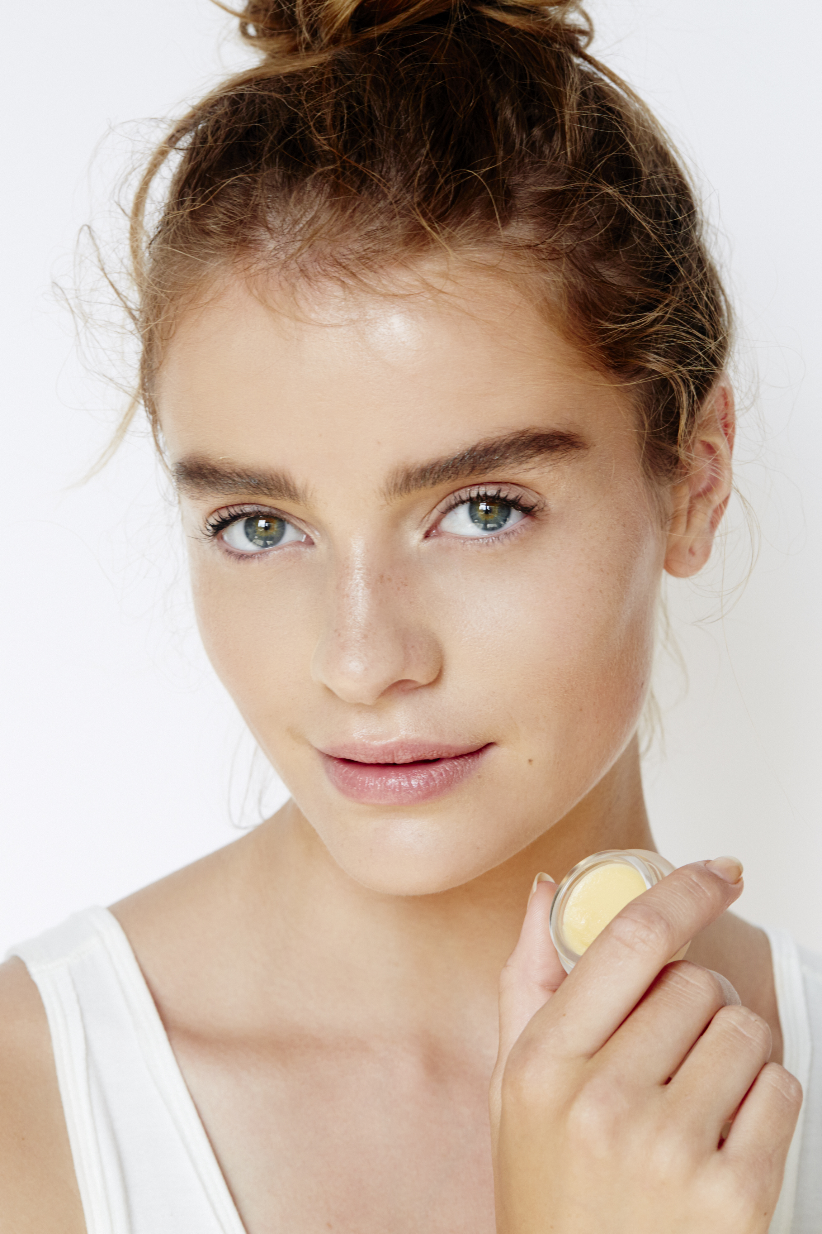 A beauty image for Free People's website.