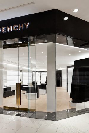 The Givenchy store at the Aventura Mall in Miami.