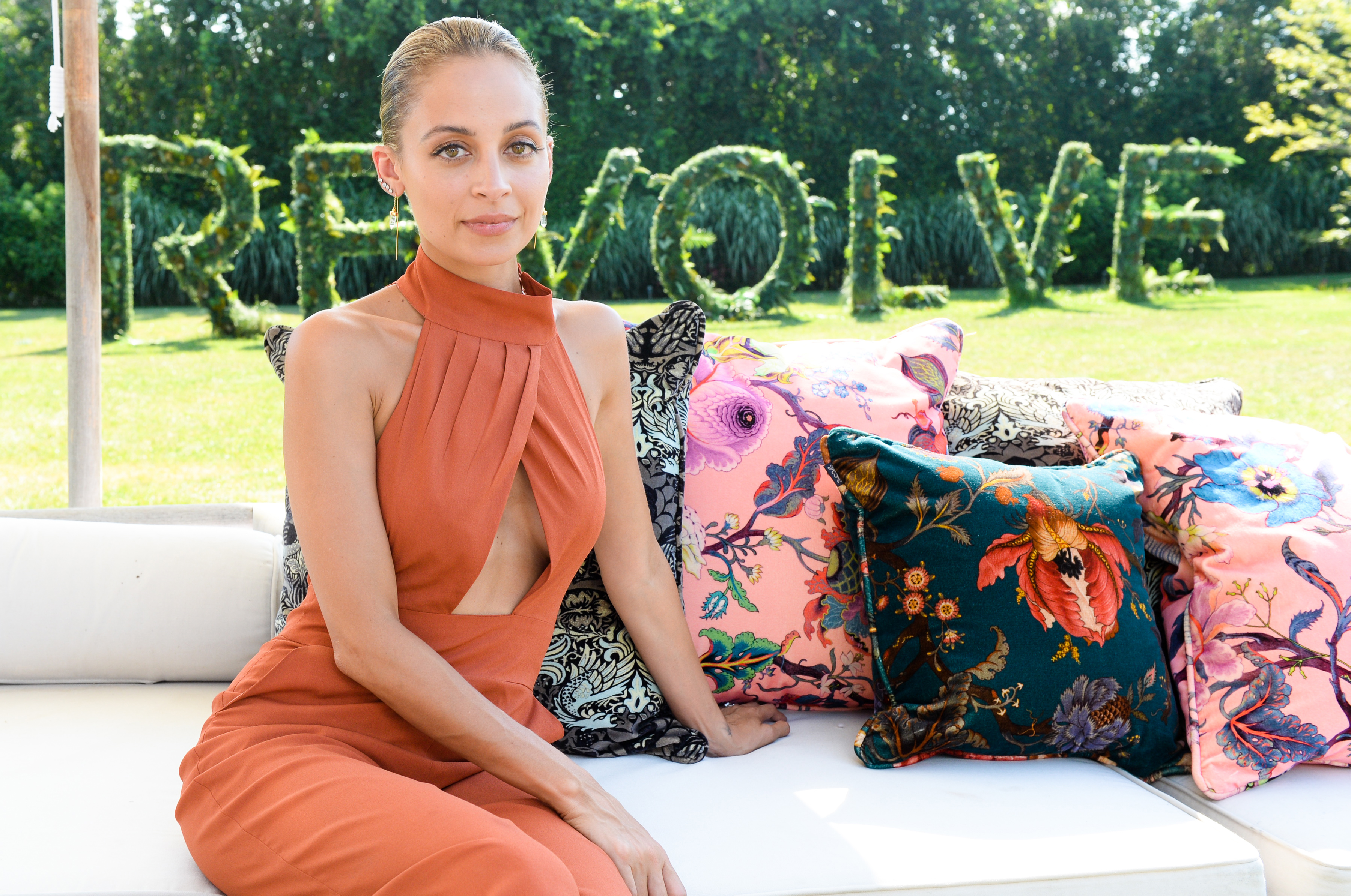 Nicole Richie at the Revolve party.
