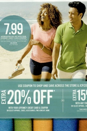 J.C. Penney was the number-one free-standing insert for June.