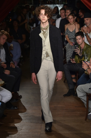 John Varvatos Men's RTW Spring 2017