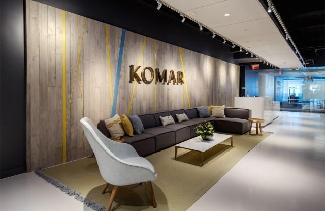 Komar's Jersey City, N.J., headquarters.