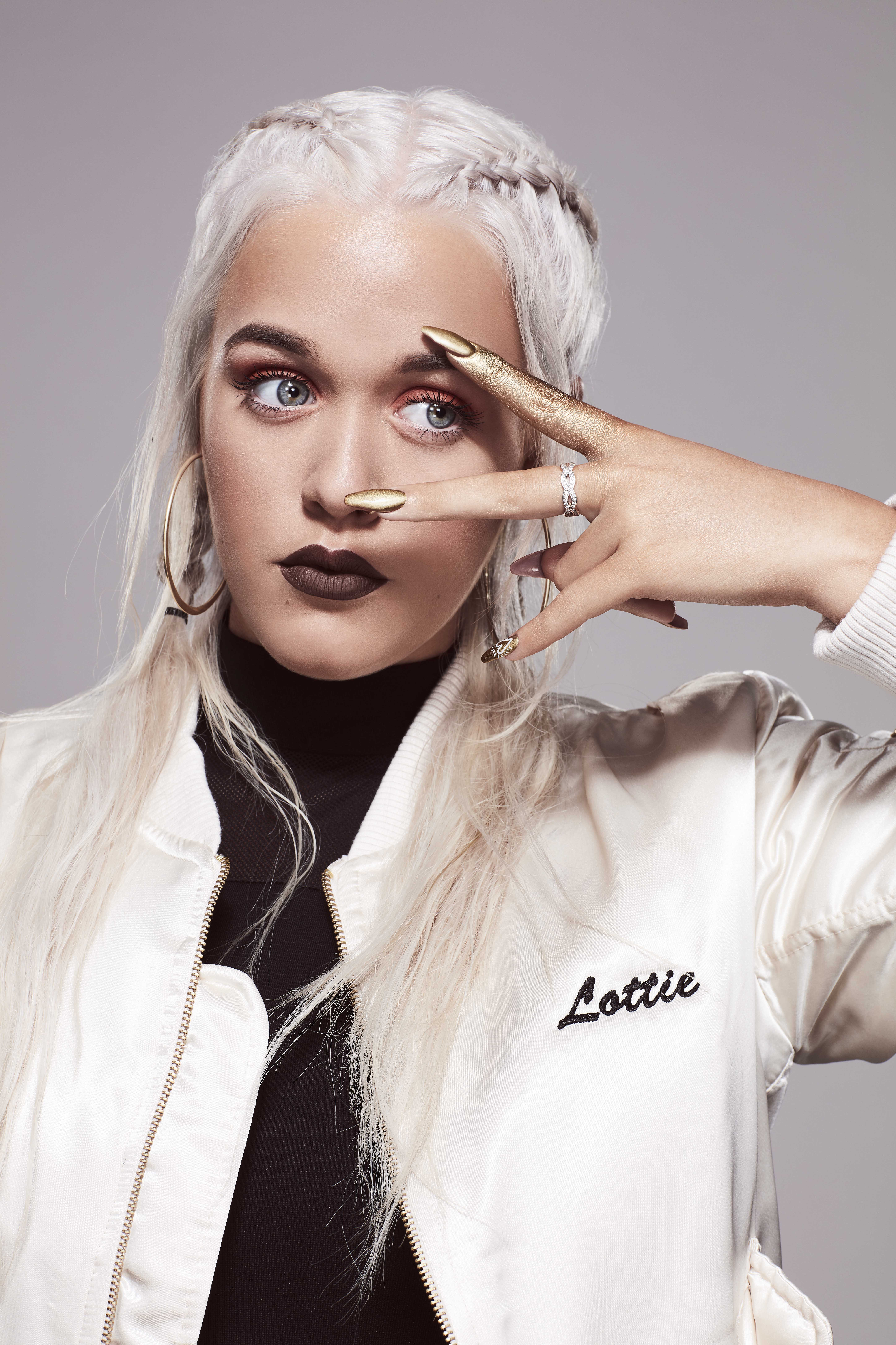 Lottie Tomlinson creates Good as Gold for Nails Inc.