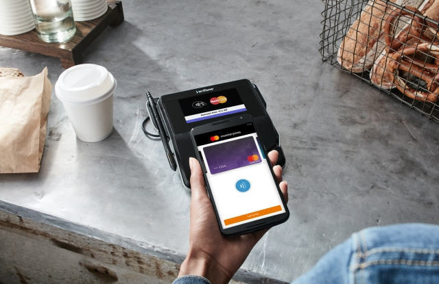 Masterpass contactless payments in physical retail.