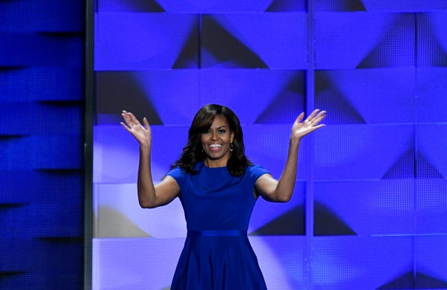 Michelle Obama at the 2016 Democratic National Convention.