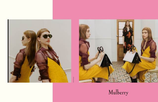 Mulberry fall 2016 campaign