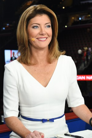 Norah O'Donnell reporting from the conventions.