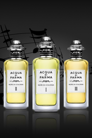 "Acqua di Parma's ""Note di Colonia"" collection."