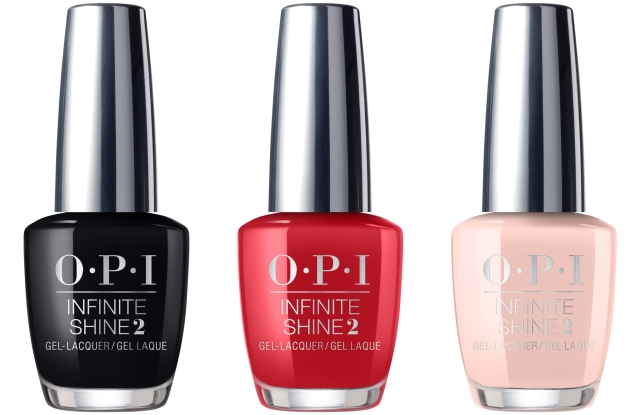 OPI's Infinite Shine long-wear lacquer will be released in the company's 30 bestselling shades.
