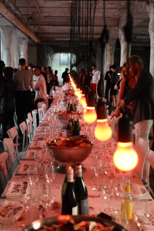 Dinner hosted by Ottolinger AND Eckhaus Latta's party installation
