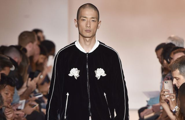 A look from the Ovadia & Sons spring line.