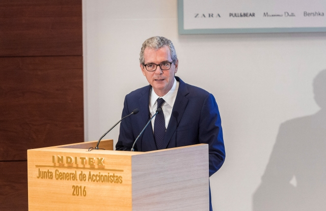 Inditex chairman and chief executive officer Pablo Isla