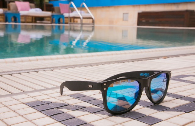 Local Supply's limited-edition sunglasses for the McCarren Hotel & Pool.