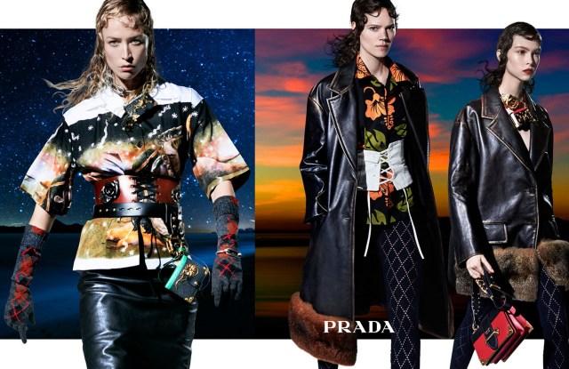Prada Fall/Winter 2016 advertising campaign