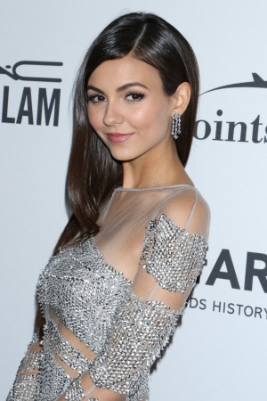 Victoria Justice at the amfAR Inspiration gala.