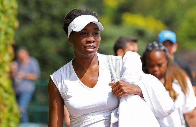 Venus Williams in EleVen on June25 2016,ahead of competition at Wimbledon.