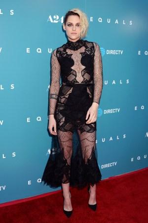 """Kristen Stewart at the """"Equals"""" film premiere."""