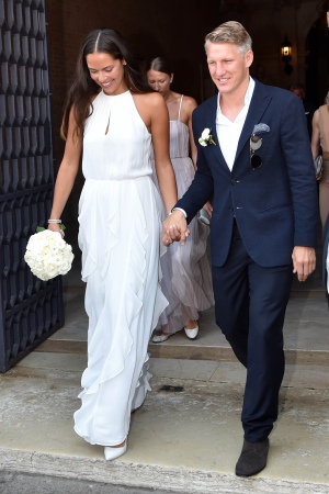 The wedding of Bastian Schweinsteiger and Ana Ivanovic, Venice, Italy - 12 Jul 2016