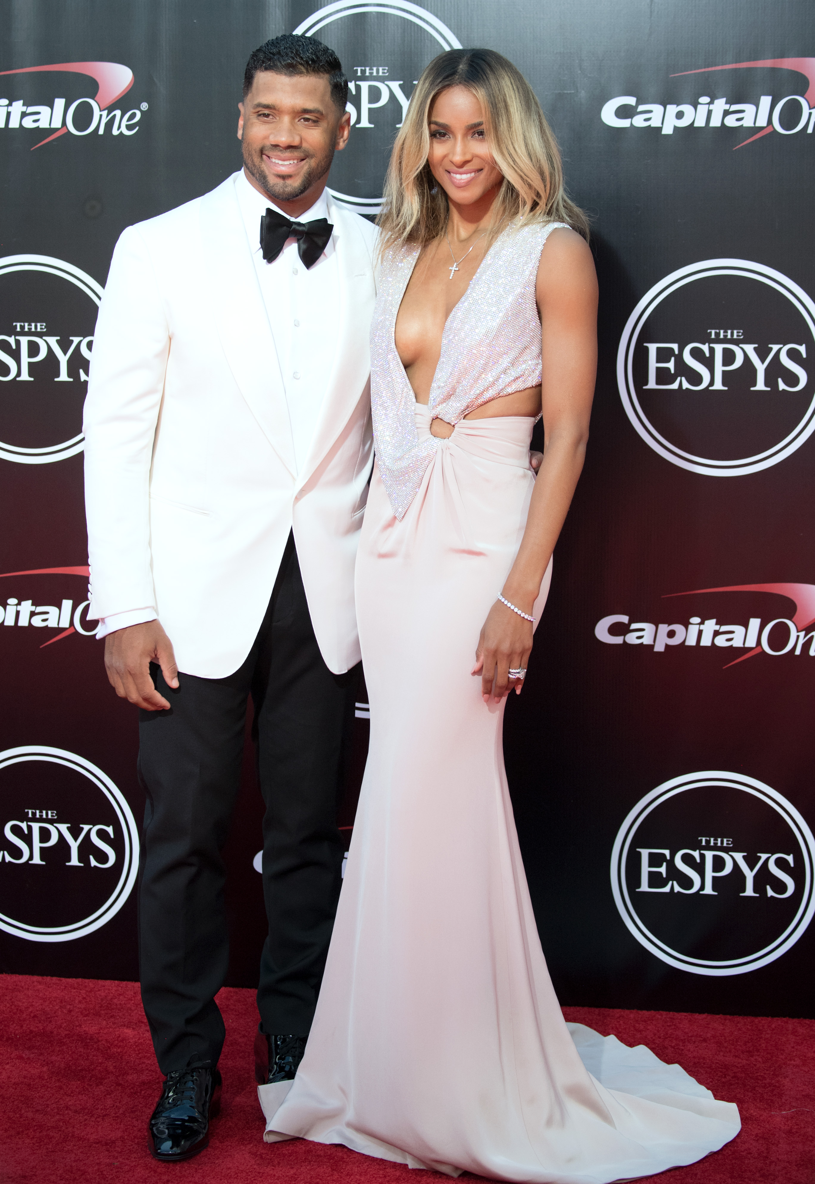 ESPY Awards 2016 Russell Wilson Ciara