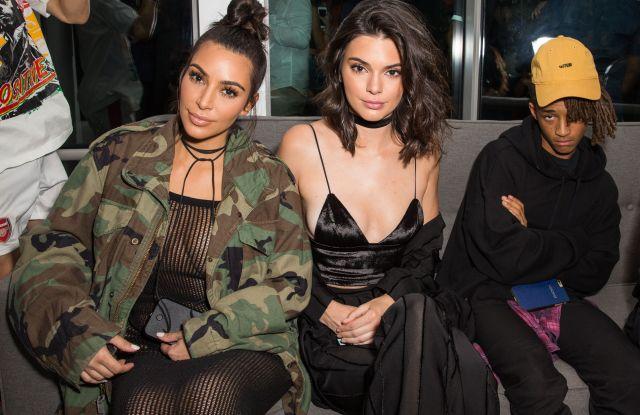 OUE Skyspace LA launch Kim Kardashian, Kendall Jenner Jaden Smith
