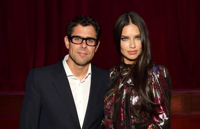 Marc Jacobs Divine Decadence Fragrance Dinner Sebastian Suhl and Adriana Lima