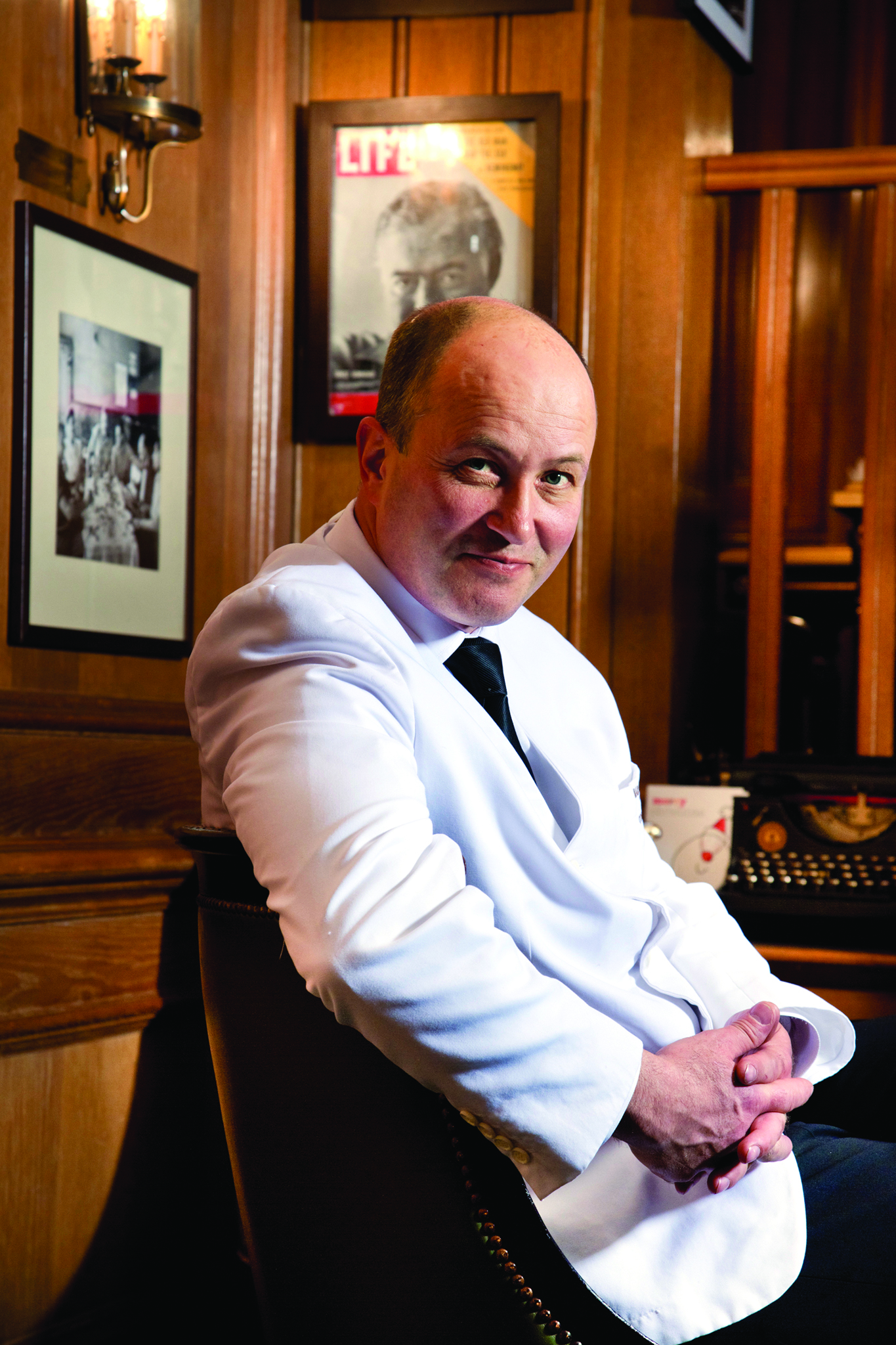 Colin Field, the Ritz's renowned head bartender, and his crew are back in place.