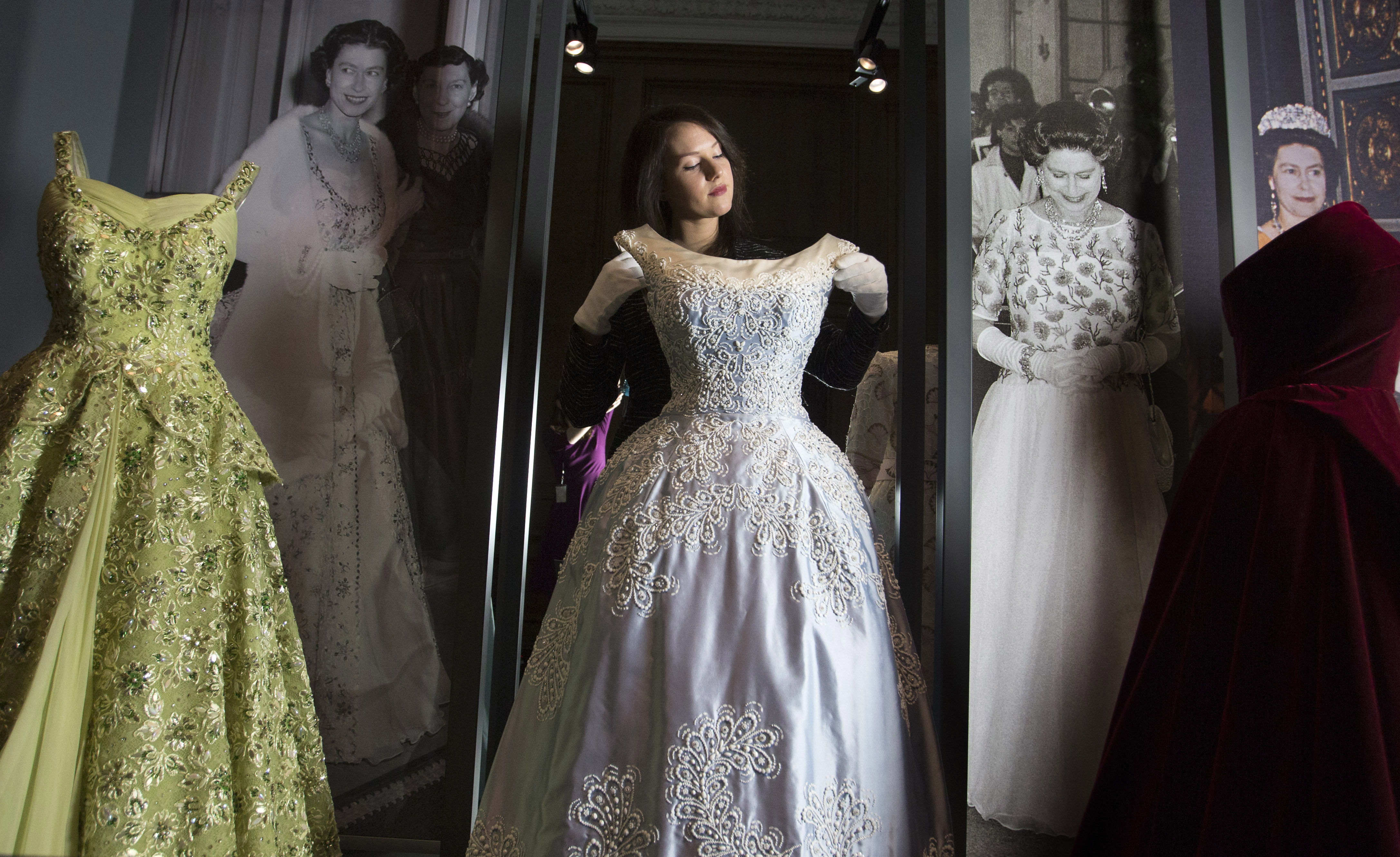 Fashioning a Reign: 90 Years of Style from The Queen's Wardrobe, exhibition at Buckingham Palace