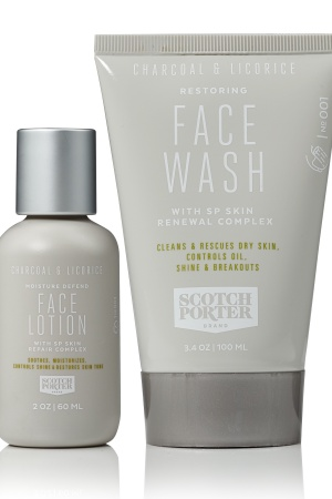 New Scotch Porter Face Lotion and Face Wash.