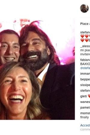 Stefano Gabbana, Patrizio di Marco and Diana Zanetto.